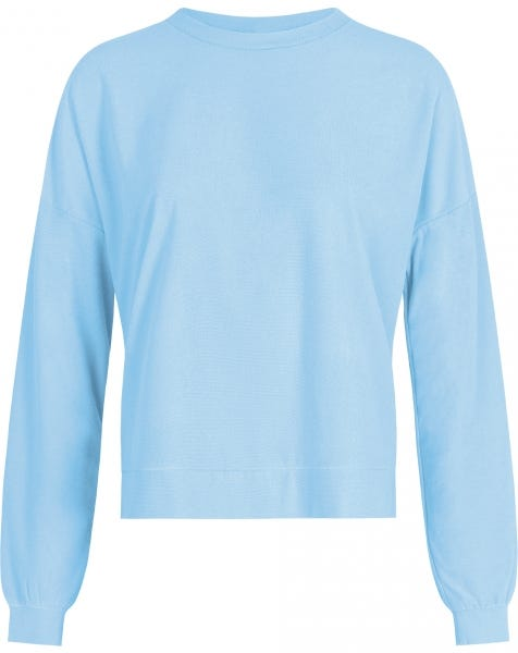 TERRY CLOTH SWEAT BLUE