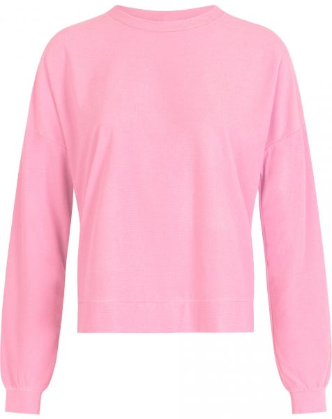 TERRY CLOTH SWEAT PINK