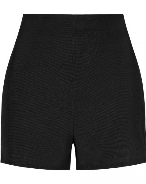 TERRY CLOTH SHORTS BLACK