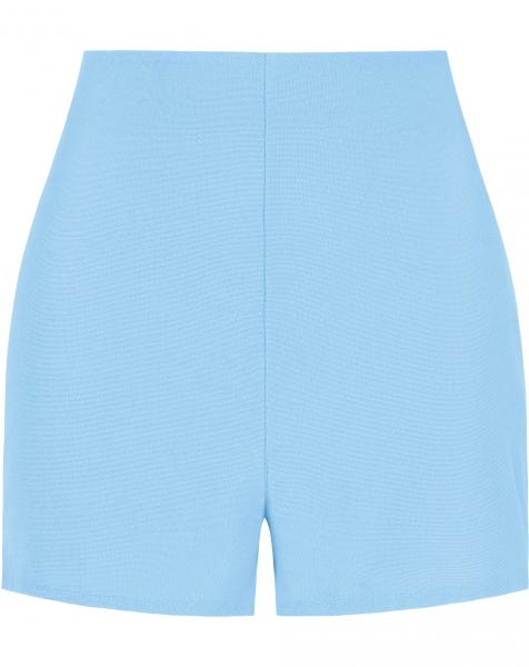 TERRY CLOTH SHORTS BLUE