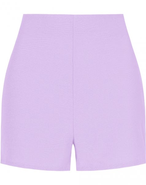 TERRY CLOTH SHORTS LILA