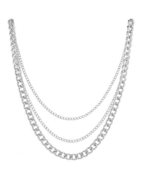 GLAM IT UP NECKLACE SILVER
