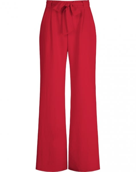 ROSE TROUSERS RED