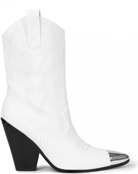 SEDA COWBOY BOOTS WHITE