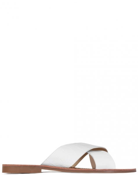 MIYA SLIPPERS WHITE