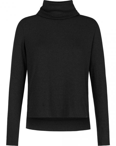 GRACE COL KNIT BLACK
