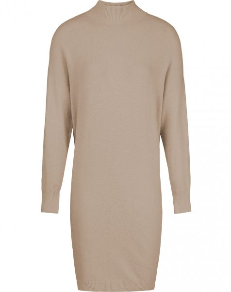 GIGI KNIT DRESS TAUPE
