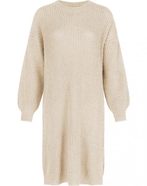 JOAN KNIT DRESS ALMOND