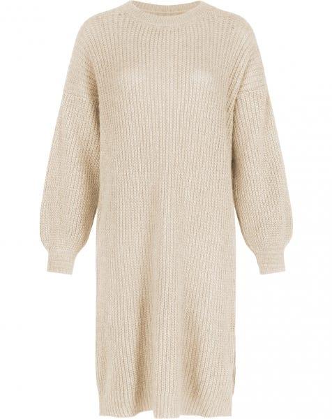 JOAN KNIT DRESS ALMOND