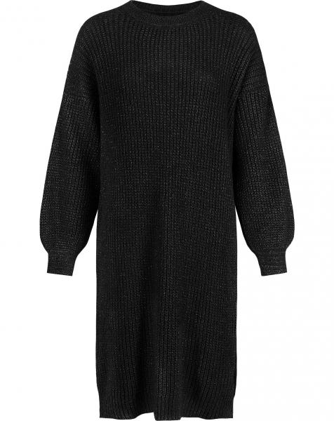 JOAN KNIT DRESS BLACK