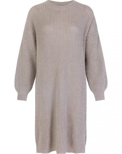 JOAN KNIT DRESS TAUPE