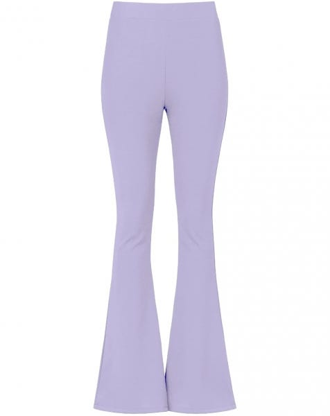 MOST WANTED FLARED PANTS LILA