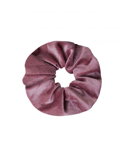VELVET SCRUNCHIE OLD ROSE
