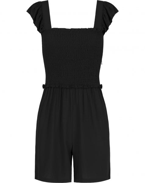 JOSY PLAYSUIT BLACK