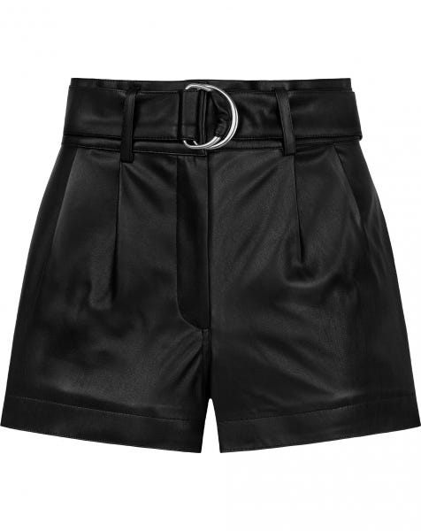 CANDY LEATHER SHORTS