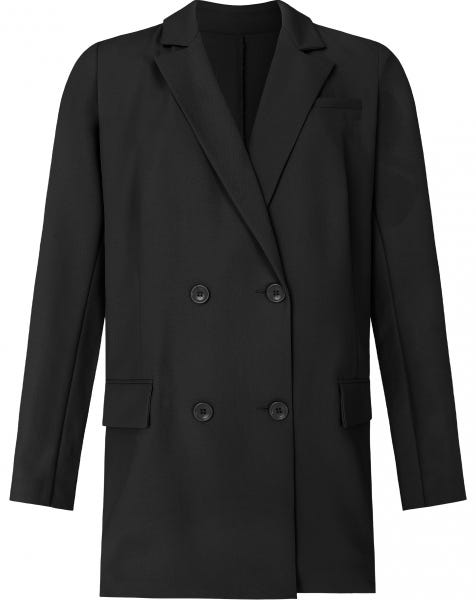 OVERSIZED BLAZER BLACK