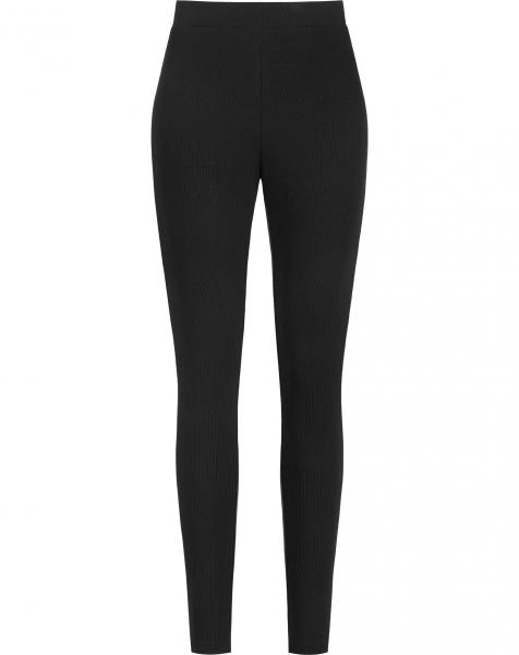 SOFT RIBBED LEGGING