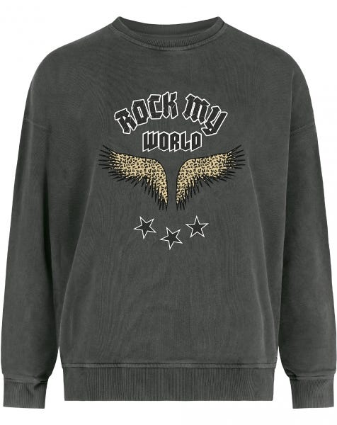 ROCK MY WORLD SWEATER GREY