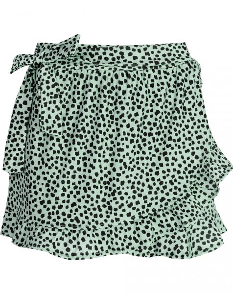 MINT CHEETA SKORT