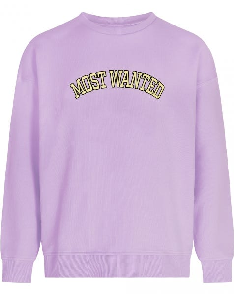 MOST WANTED SWEATER LILA