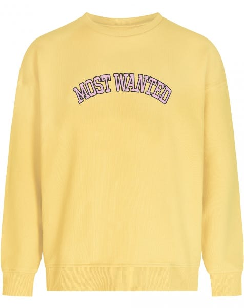 MOST WANTED SWEATER YELLOW