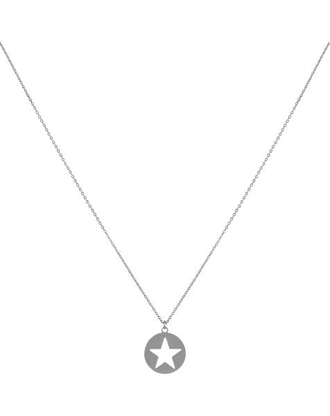 YOU'RE MY STAR NECKLACE SILVER