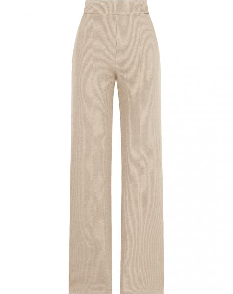 GRACE WIDE PANTS BEIGE