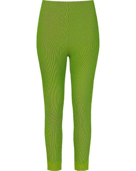 PIED DE POULE LEGGINGS LIME