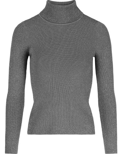 LUREX COL KNIT GREY