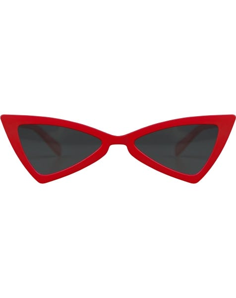 RETRO CAT EYE SUNNY RED