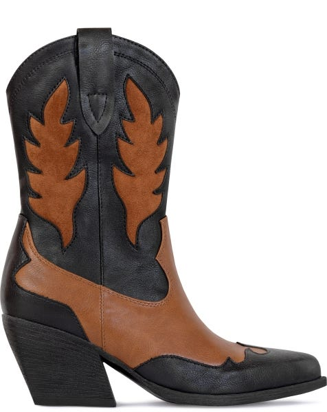 WESTERN BOOTS CAMEL