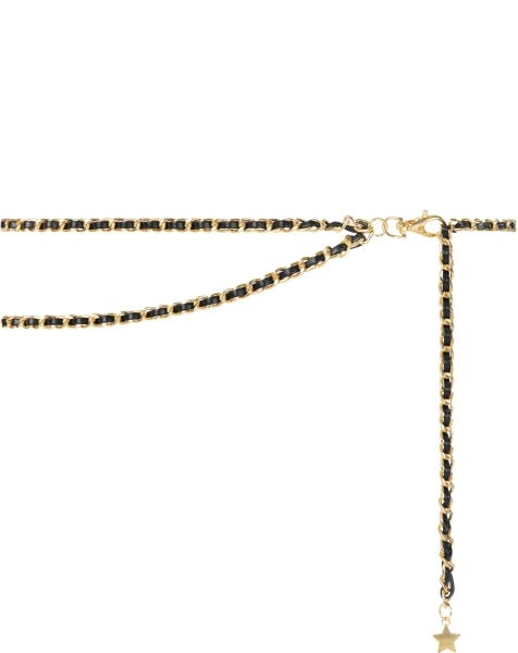 SOPHISTICATED LAYER CHAIN BELT GOLD
