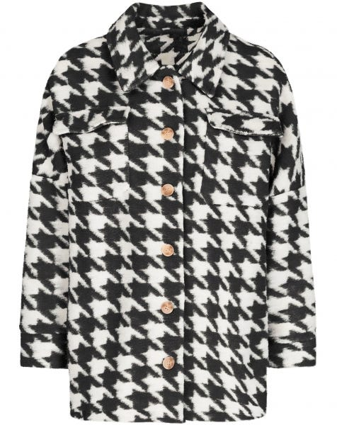 PIED DE POULE JACKET BLACK