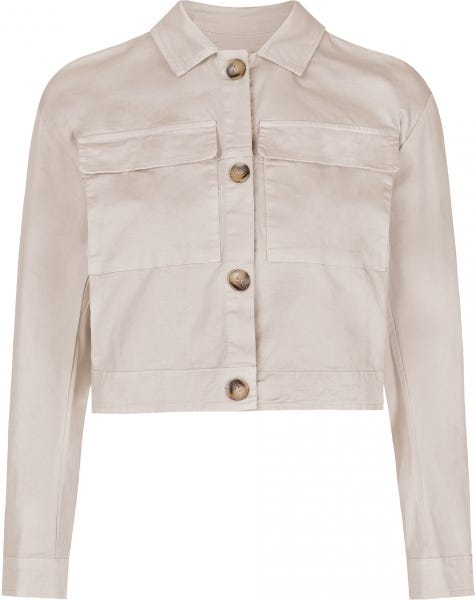 JANE SHORT JACKET SAND