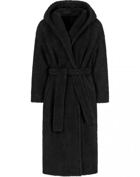 JOSIE TEDDY COAT BLACK