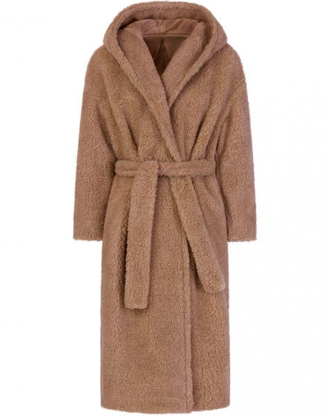 JOSIE TEDDY COAT CAMEL