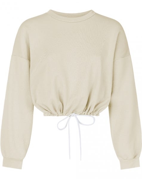 JUNE TIE SWEAT BEIGE