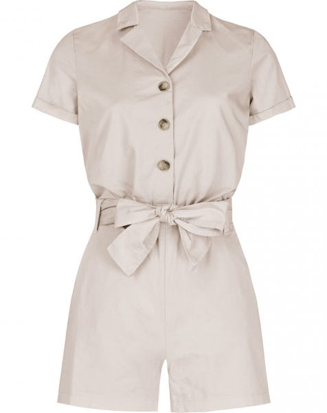 JANE PLAYSUIT SAND